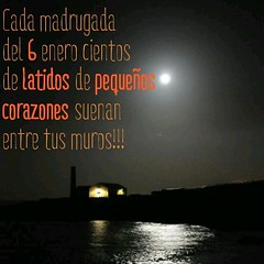 Cada madrugada del 6 enero cientos de latidos de pequeños corazones suenan entre tus muros!!!. Que #lainocenciateacompañe #cidecan15