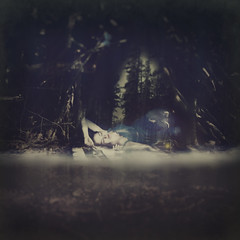 dreams of two worlds (rachelennis2422) Tags: sleeping composite forest model sleep dreaming dreams resting lying select
