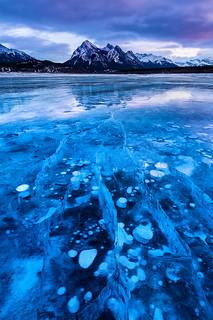 Shattered | Abraham Lake, Canadian Rockies