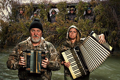 Never Play your Accordion beside a Duck Blind (Studio d'Xavier) Tags: accordion 365 day19 duckhunting duckblind 19365 werehere mymondaymusicadvice day19365 duckcommander duckdynasty 365the2015edition 3652015 january192015 19jan15