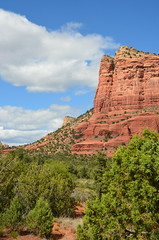 Redwall (NPS Aficionado) Tags: arizona clouds sedona redrocks rockformation