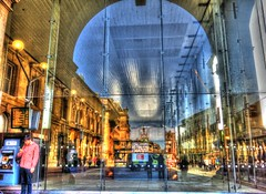the entrnce to central station (thesettlementgroup) Tags: station newcastle central