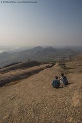 A Small Break Before The Climb Ahead. (Karthik N Rao) Tags: india trek outdoors karnataka monolith karthik savanadurga incredibleindia kanaraphotos knr2016