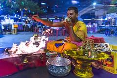 Market Prayers (huwpenson) Tags: night market prayer pray blessing shiva