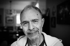 The Wise One (JeremyMillerPhotography) Tags: portrait blackandwhite white black dof depthoffield