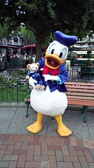 Duffy Without His Hat (BeautifulToyReviews) Tags: bear street outside outdoors duck anniversary disneyland character main parks disney donald diamond celebration duffy edition meet 60th greet