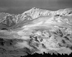 Mt.Okutoppu from Mt.Shokanbetsu (threepinner) Tags: ski japan spring skiing   daytime fujica tmax100 hokkaidou 80mm f35 northernjapan mashike  ebcfujinon  mountainsnaps gf670 mtshokanbetsu  finedol mtokutoppu   analogmountainsnaps