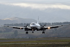 Air Chathams Convair 580 (GJC1) Tags: morning misty dawn g wanaka warbird airdisplay warbirdsoverwanaka gjc1 wanakaairport geoffcollins