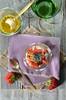 verrine ricotta fraise passion (zesttangerine) Tags: dessert chia passion ricotta fraise fruitdelapassion végétarien verrine grainesdechia