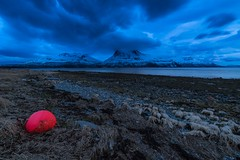 Stranded (Christian Uhlig) Tags: norge nordnorge hella eveninglight kvalya northernnorway kveldslys