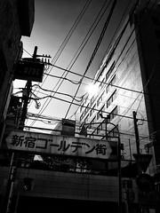 Street Fragments #195 - Shinjuku Labyrinth (Yoshi T. (kagirohi)) Tags: japan japanese tokyo shinjuku goldangai blackwhite bw street streetphotograph streetphotography alley fragment urban city cityscape snapshot night nightview ricoh gr ricohgr                   blackandwhite monochrome depthoffield