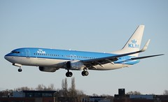 KLM / Boeing 737-800 / EHAM 36R /  (RVA Aviation Photography (Robin Van Acker)) Tags: amsterdam airplane photography airport outdoor aircraft air jet planes vehicle airlines schiphol airliner jumbo trafic jetliner avgeek
