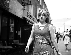 "London Black and White Street Photography - ""The Great Londoners"" (Nicholas Goodden) Tags: people woman girl monochrome tattoo star fierce camden candid voigtlander badass streetphotography olympus shotfromthehip manualfocus camdentown blackandwhitephotography urbanphotography londoners startattoo peopleonthestreets manuallens blackandwhitestreetphotography londonphotography microfourthirds omdem1"
