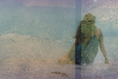 Alissa (Juliet Alpha November) Tags: film beach strand analog 35mm sand exposure kodak jan bokeh outdoor double multiple plus 100 analogue expired multi vr doppelbelichtung mehrfachbelichtung meifert