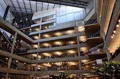 Brutalistic Escher (Michael J. Linden) Tags: architecture nikon doe departmentofenergy anl nationallaboratory mikelinden d7000 michaellinden nikond7000 michaeljlinden n9bdf
