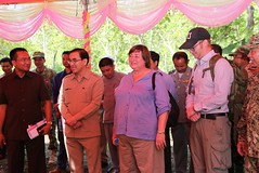 Under Secretary of State for Economic Growth, Energy, and the Environment Catherine A. Novelli visits Prey Lang Wildlife Sanctuary. (USEmbassyPhnomPenh) Tags: usaid forest us cambodia forestry conservation international evergreen american agency prey development lang province biodiversity preah vihear