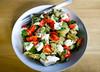 Dinner, Tuesday, Happily. (Terekhova) Tags: chicken dinner pepper buffalo eggplant salt olive bean oil basil noodles aubergine edamame mozzarella fettuccine mung