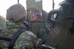 160608-A-DM872-221 (2d Cavalry Regiment) Tags: camera june germany de poland vehicles shaving ricardo britisharmy convoy hernandez rivercrossing usarmy pl bydgoszcz stryker vistulariver 2016 combatcamera germanarmy 2cr comcam strykers natoforces arocho orzysz 55thsignalcompany 2ndcavalryregiment christopherprice sgt1stclass chelmo dragoonrideii saberstrike16 anaconda16 suwalk