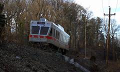N5 Car 134 (soldat252) Tags: railroad philadelphia train trolley interurban septa norristown railfan pw havertown