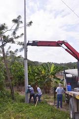 CNEL realizan cambios de postes transformadores y luminarias en sectores barriales (GadChoneEC) Tags: postes cambios luminarias transformadores cnel sectoresbarriales