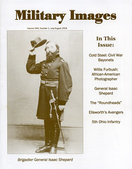 Military Images magazine cover, July/August 2004 (militaryimages) Tags: history infantry mi america magazine soldier photography rebel us marine uniform photographer unitedstates military union navy archive confederate worldwari civilwar american weapon tintype ambrotype artillery stereoview cartedevisite sailor ruby veteran roach daguerreotype yankee cavalry neville spanishamericanwar albumen mexicanwar coddington backissue citizensoldier indianwar heavyartillery matcher findingaid militaryimages hardplate