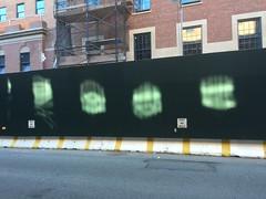9/2015 - The Greenwich Lane under Construction (TheMachineStops) Tags: nyc newyorkcity reflections construction outdoor manhattan westvillage postnobills condos iphone6 thegreenwichlane formerstvincentshospital
