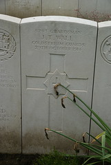 J.T. Wall, Coldstream Guards, 1914, War Grave, Poperinghe (PaulHP) Tags: cwgc ww1 world war 1 first great belgium grave marker headstone military cemetery jt wall john thomas private service number 5743 29th october 1914 coldstream guards 1st bn battalion poperinghe old