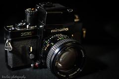 Minolta XK with MD Rokkor 50mm f/1.2 taken with Sony A7 + Leica R 60mm macro ('kenlwc - ) Tags: black macro film lens 50mm minolta gear 12 filmcamera 60mm xk kenleung minoltacamera minoltaxk sonya7 minoltamdrokkor50mmf12 leica60mmmacro kenlwc