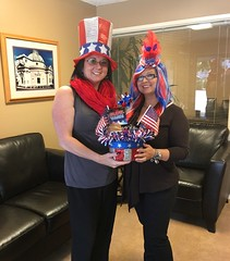 Neptune Society of Northern California, Marin County - Celebrates the Fourth of July with Patriotic Donations