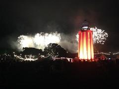 opening fireworks (P3T3R YORK3) Tags: festival night lights fireworks glastonbury