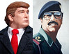 Trump Role Model: Saddam Hussein (Mike Licht, NotionsCapital.com) Tags: politics donaldtrump trump saddam gop republicans saddamhussein rolemodels dictators strongmen