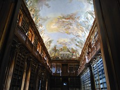 Strahovska Knihovna (gabeviela) Tags: strahov monstary library czech cechia strahovska knihovna architecture art fresco libraries frescos ceiling tall beautiful indoor travel old prague praha