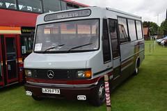 L839 FTX (markkirk85) Tags: peterborough bus rally 2016 buses mercedes benz 711d plaxton beaver ex grettons morleys whittlesey new stolzenberg maesteg 41994 l839 ftx l839ftx