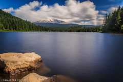Trillium Lake (Samantha Decker) Tags: canonef24105mmf4lisusm canoneos6d mthood nd or oregon pnw pacificnorthwest samanthadecker trilliumlake longexposure neutraldensity
