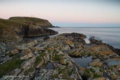 The colors of evening (Renate van den Boom) Tags: 07juli 2016 architectuur europa grootbrittanni jaar landschap maand mainland natuur renatevandenboom rots shetland vuurtoren zeeoceaan