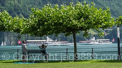 Area for the Swiss Abroad, Brunnen SZ on Lake Lucerne, Switzerland (jag9889) Tags: 1991 2016 20160721 aso alpine areafortheswissabroad auslandschweizerorganisation auslandschweizerplatz boat brunnen ch cantonschwyz centralswitzerland europe foundation gallia helvetia innerschweiz lake lakelucerne monument outdoor paddlesteamer park schiller schweiz schwyz ship square suisse suiza suizra svizzera swiss swisspath switzerland transportation vessel vierwaldstttersee zentralschweiz jag9889