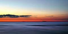 day's end (anj_p) Tags: lakeontario stcatharines torontoskyline lake ship twilight minimalism simplicity
