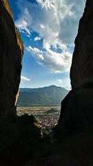 Kalabaka (dr_scholz@ymail.com) Tags: meteora kalabaka landscape mountain city valley window clouds evening leicam9 superelmarm21mmasph superelmarm21mmasphf34  kalambaka kalampaka