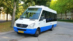 GVB Amsterdam Mercedes mini bus number 018 for bus service 30 & 30 into the country side of Amsterdam. (sirgunho) Tags: gvb amsterdam mercedes mini bus number 018 for service 30 country side public transport buikslotermeerplein holysloot zunderdorp