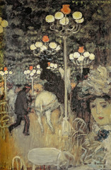 Pierre Bonnard - Cafe in the Woods or Jardin de Paris, 1896 at Pierre Bonnard: Painting Arcadia Exhibit Legion of Honor Museum of Fine Arts San Francisco CA (mbell1975) Tags: sanfrancisco california unitedstates us pierre bonnard cafe woods or jardin de paris 1896 painting arcadia exhibit legion honor museum fine arts san francisco ca museo muse musee muzeum museu musum mze finearts gallery gallerie beauxarts beaux galleria french impression impressionist impressionism