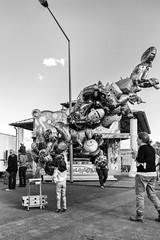 ballooooons (Zesk MF) Tags: kid rummel fair ballons luftballon zesk trier street people moment leute candid unasked messe joy want erni sesamstrasse