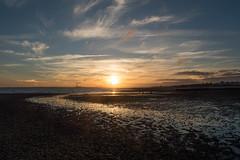 Farewell (NVOXVII) Tags: sunset stunning nature silhouette beach coast dusk lowlight leadinglines pebbles tide landscape seascape nikon summer composition