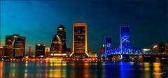 A beautiful night at Tampa Bay (Thesergeant (A city guy)) Tags: jacksonville fl miamifl tourism walking nightphotography colors urban unitedstates street skies
