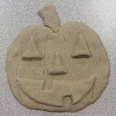 Sand o Lantern (the ghost in you) Tags: pumpkin jackolantern pumpkins jackolanterns halloween horror sand kineticsand