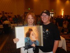 Larry meeting Luciana Paluzzi - Mid Atlantic Memorbilia Con - September 2016 a (litlesam1) Tags: larry september2016