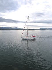 3937 A yacht in the Menai Straits (Andy panomaniacanonymous) Tags: 20160907 bbb boat cruise menaistraits mmm roundtrip sss yacht ynysmon yyy