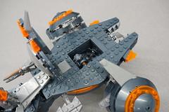 DSC06822 (starstreak007) Tags: megabloks halo phaeton gunship