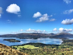 Stunning view of Loch Lomond today (lewi1553) Tags: scottish conichill hills water loch scenery view scotland balmaha lochlomond