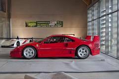Ferrari F40 (Spotter31) Tags: red les very ferrari coeur du enzo gto gt rosso rare carcassonne supercar 288 f40 f50 telethon 2014 laferrari