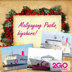Christmas Greeting Advertisement from 2GO Travel (Irvine Kinea) Tags: world voyage trip travel cruise sea costa west port harbor amber cabin asia ship open pacific deluxe air south philippines north vessel cargo east advertisement adventure explore crew journey bow tatami manila airconditioned cebu express passenger bacolod accommodation viking tours stern economy knots carrier navigation freight asean visayas iloilo cagayan rudder negros ordinary mindanao bulk serrano zamboanga ats aft ncr barko atienza amenities superferry 2go biyahe quincela